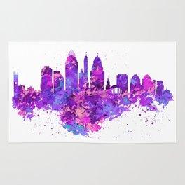 Cincinnati Skyline Rug