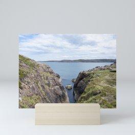 View at Cove Battery Mini Art Print
