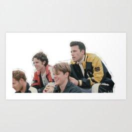 Good Will Group Art Print
