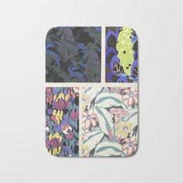 Art Deco vintage pattern design Bath Mat