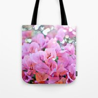 Bougainvillea II Tote Bag