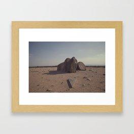 North + South Framed Art Print