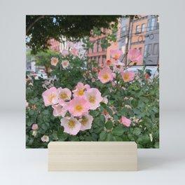 Hoboken Wild Roses Mini Art Print