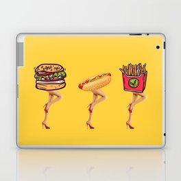 Fast food, great legs Laptop & iPad Skin