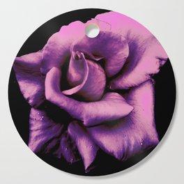 Lavender Rose Cutting Board