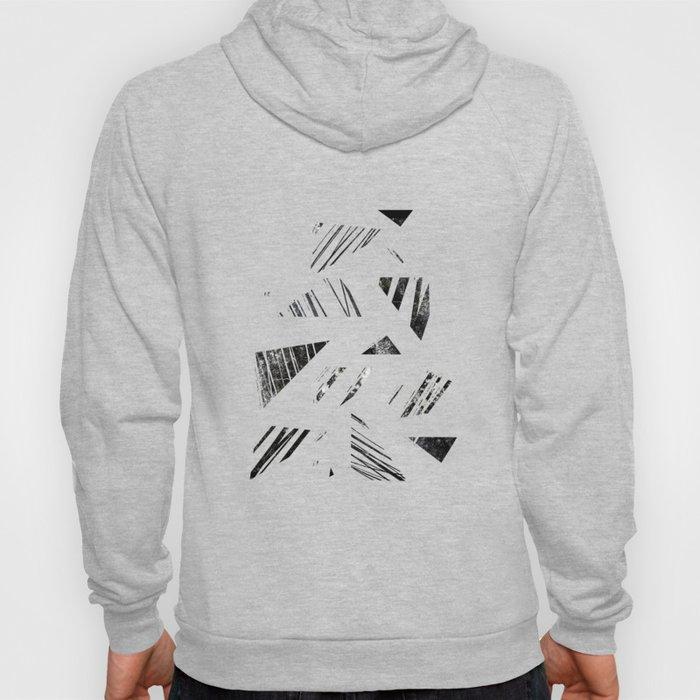 vintage triangle / black Hoody