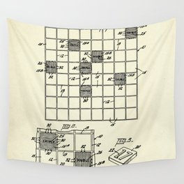 Game Apparatus-1956 Wall Tapestry