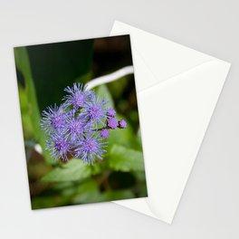 Purple Wildflower Stationery Cards