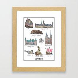Best of Denmark Framed Art Print