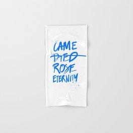 #JESUS2019 - Came Died Rose Eternity (blue) Hand & Bath Towel