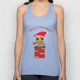 Christmas Baby Tree Unisex Tank Top