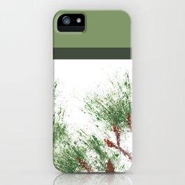 Colorblock Loblolly Pine 2 iPhone Case
