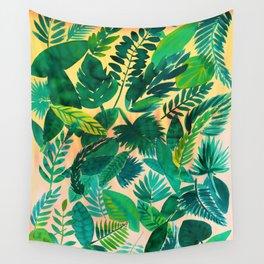 Jungle Leaf Wall Tapestry