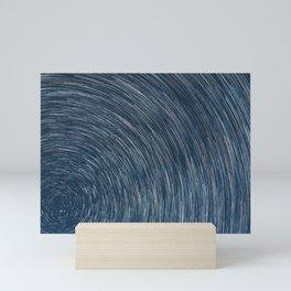 Earth's Rotation Mini Art Print