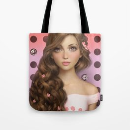 Candy Kiss Tote Bag