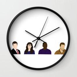 TV Characters Wall Clock