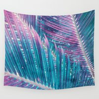 palm Wall Tapestries featuring Palm #1 by cafelab