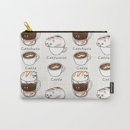 Coffee Right Meow Carry-All Pouch