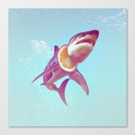 Lemon Shark Canvas Print