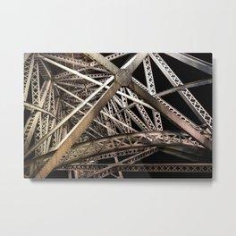 Ponte Maria Pia Metal Print