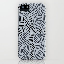Hash-marks iPhone Case