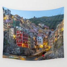 Riomaggiore of Cinque Terre Wall Tapestry