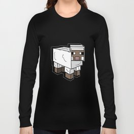 MlNECRAFT Sheep Long Sleeve T-shirt
