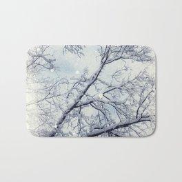 sNOw trEE Bath Mat