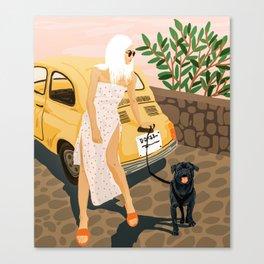 Tour #illustration Canvas Print