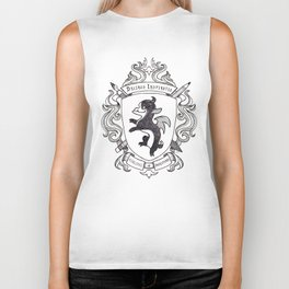 Bainstorm Coat-of-Arms Biker Tank