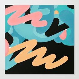 födelse | modern art print Canvas Print