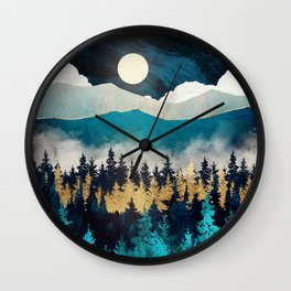 Evening Mist Wall Clock