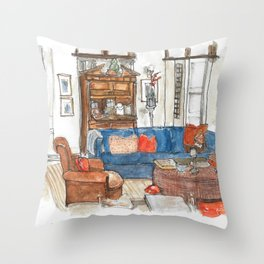 Will and Grace - Will Truman's Apartment Throw Pillow