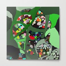Collagem Metal Print