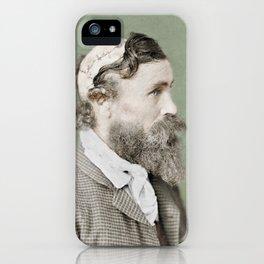 Robert McGee Scalping Survivor c.1890 - Colourised iPhone Case