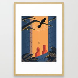 The Shadows - WORDLESS Framed Art Print