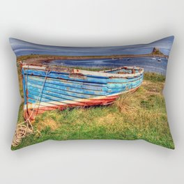 Lindisfarne By The Sea Rectangular Pillow