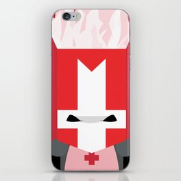 Red Knight (Castle Crashers) iPhone Skin