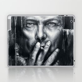 Black Star - Bowie Laptop & iPad Skin