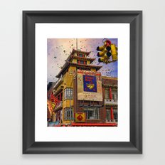 Happy Chinese New Year Framed Art Print
