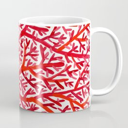 Red Fan Coral Coffee Mug
