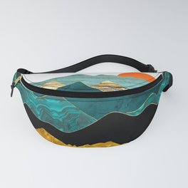 Turquoise Vista Fanny Pack