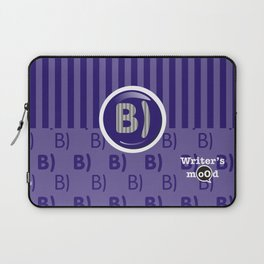 Indigo Writer's Mood Laptop Sleeve