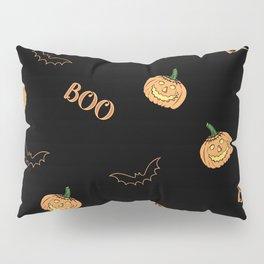 Halloween bat and pumpkin Pillow Sham