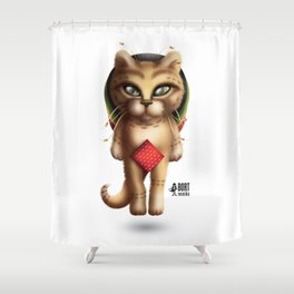 Rastaman Cat Shower Curtain