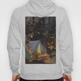 Tom Thomson Campfire 1916 Canadian Landscape Artist Hoody