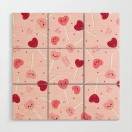 Valentine Sweetheart Wood Wall Art