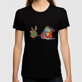 Rudolph the red nosed hedgehog T-shirt