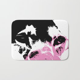 Lion Heart Africa Pink Bath Mat