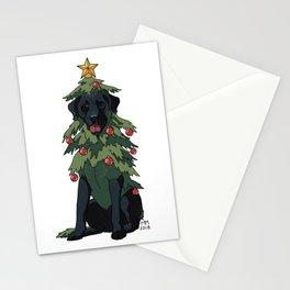 Black Labrador Retreever Stationery Cards